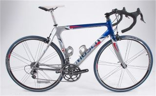 Moser Carbon 53cm Campagnolo Record Road Bike 700c 2008 Bicycle
