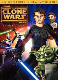 Star Wars Clone Wars   A Galaxy Divided DVD, 2009