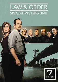 Law Order Special Victims Unit   The Seventh Year DVD, 2008, 5 Disc