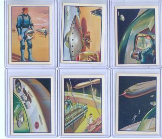 1962 Mister Softee Trip to the Moon Set (10) EX+