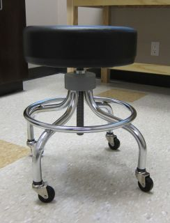 premium clinton PATIENT EXAM STOOL made in usa  one