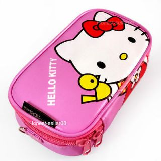 Carry Pink Hello Kitty Soft Game Case Bag Pouch For Nintendo DSi LL XL