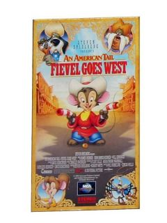 Spielberg An American Tail Fievel Goes West (VHS, 1992)