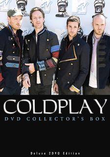 Coldplay   DVD Collectors Box DVD, 2008, 2 Disc Set