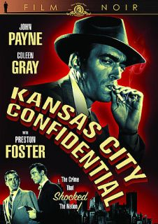 Kansas City Confidential DVD, 2009