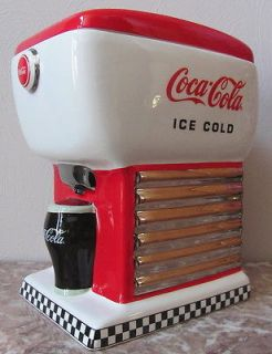 Coca Cola   Coke   Old Fashion Style Soda Fountain Dispenser Cookie