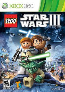LEGO STAR WARS III 3 THE CLONE WARS XBOX 360 GAME BRAND NEW SEALED