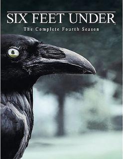 Six Feet Under   The Complete Fourth Season DVD, 2005, 5 Disc Set