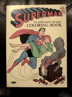 Superman / Whitman Coloring Book / #1157 / 1964