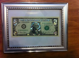 ONE 9999 SILVER DOLLAR BILL COLORIZED LEGAL FEDERAL NOTE, GIFT