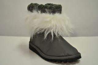 Junya Watanabe Comme des Garçons Nylon Boots NWB sz M US 10 Faux Fur
