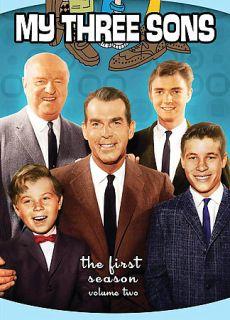 My Three Sons   Season One Volume Two DVD, 2009, 3 Disc Set, Full