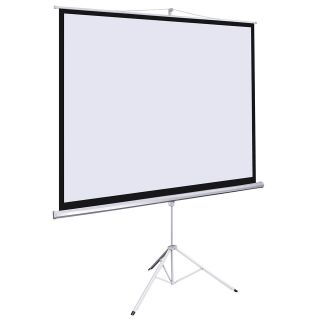 Office Home 100 Tripod Portable Projection Screen Square 70x70