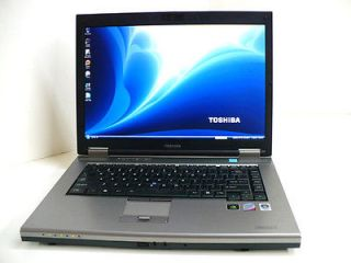 TOSHIBA TECRA A10 LAPTOP 2.8GHz T9600 2GB 200GB BLUETOOTH WINDOWS 7