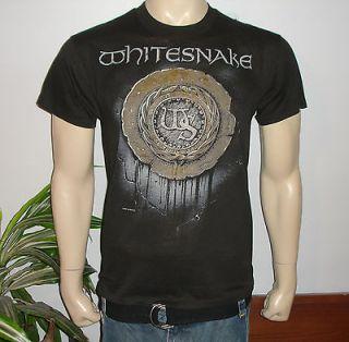 RaRe *1988 WHITESNAKE* vtg rock metal concert tour t shirt (L) 80s