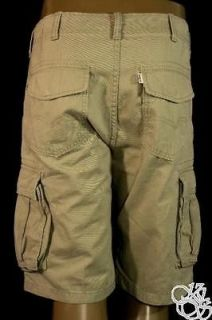 LEVIS JEANS Covert Core Cargo Khaki Sits Below Waist Relaxed Fit Mens
