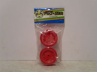 Prostar Wheels w/ screws for Tamiya Hornet, 1 pair vintage