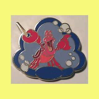 2012 Sebastian Crab from the Little Mermaid Disney Trading Pin