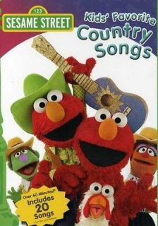 Sesame Street Kids Favorite Country Songs [DVD New]