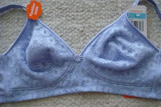 2009 DAISY LACE WIRE FREE BRA WITH PLUSHLINE INSIDE 36C/38D/40C