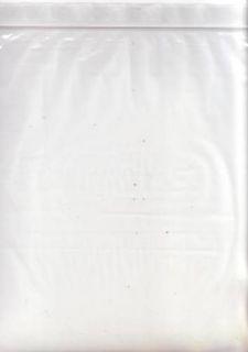 Zip Lock Bags 13 x 13 Scrapbooking Paper Storage Resealable Bag