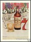1942 Seagrams Whiskey Vintage Bottle Christmas Do AD