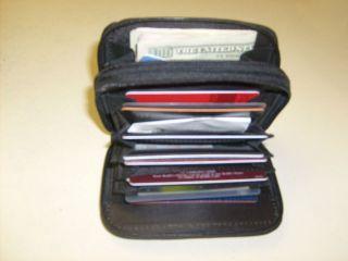 Women Vintage Genuine Leather Bifold Wallet Credit Card Holder Coin