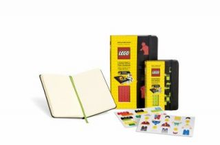 Lego Green Brick Pocket Plain Black Cover by Moleskine 2012, Hardcover