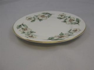 Plate   Pear Blossom  Crown Staffordshire Fine Bone China England