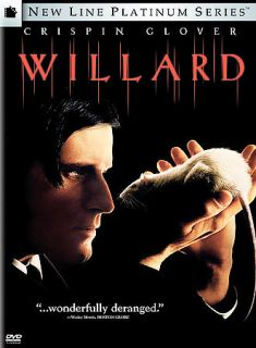 Willard, New DVD, Crispin Glover, R. Lee Ermey, Laura H