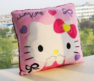Cute Hello kitty Pink Squre Pillow Soft Plush Cushion kt33