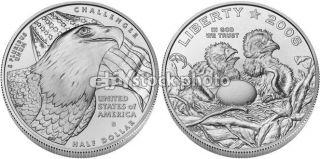 Half Dollar, 2008, American Bald Eagle