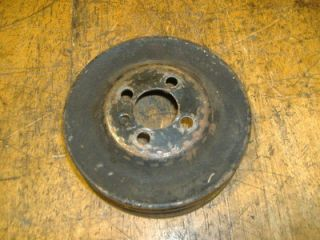 VW Diesel Crankshaft Dual v belt Pulley 77   92 yr