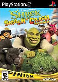 Shrek Smash n Crash Racing Sony PlayStation 2, 2006