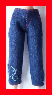 11.5 HANNAH MONTANA BARBIE DOLL CLOTHING CLOTHES FASHION CAPRI PANTS