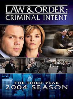 Law Order Criminal Intent   The Third Year DVD, 2004, 3 Disc Set
