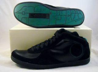 Diesel TELL Mens CASUAL Tennis shoes HI TOP Sneakers SIZE 13 NEW BLACK