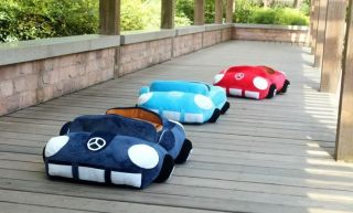 NEW Luxury Popular Soft Warm Pet Dog Cat Car Bed House Convertible