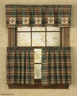lodge curtains in Curtains, Drapes & Valances