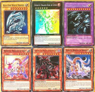Hieratic Deck Dragon King of Atum Blue Eyes White Dragon DPKB Ultimate