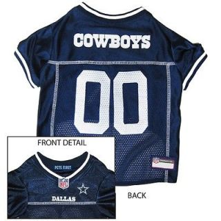 Dallas Cowboys Officially Licensed NFL Dog Jersey in 4 sizes for Small