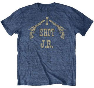 Dallas TV Show I Shot J.R. Officially Licensed Adult Lightweight Tee