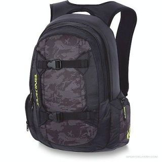 Dakine Mission Phantom Backpack Mens Black NWT Laptop Bag
