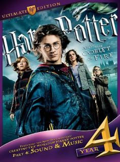 Harry Potter and the Goblet of Fire DVD, 2010, 3 Disc Set, WS Ultimate