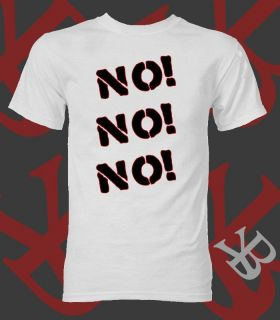 NEW TEAM HELL NO DANIEL BRYAN T SHIRT WWE WRESTLING + EARPHONES UK YES