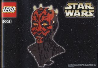 LEGO 10018 STAR WARS DARTH MAUL ULTIMATE COLLECTORS INSTRUCTIONS ONLY