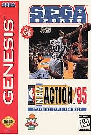 NBA Action 95 starring David Robinson Sega Genesis, 1995