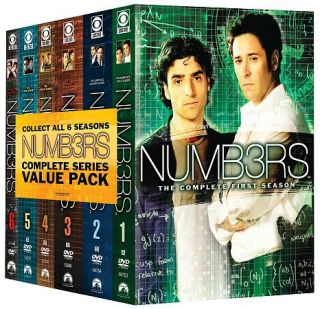 Numb3rs Complete Series Pack DVD, 2010, 31 Disc Set