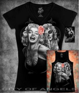 Monroe Dia De Los Muertos Day of the dead T Shirt DGA David Gonzales
