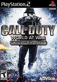 Call of Duty World at War Final Fronts COMPLETE GREAT Sony